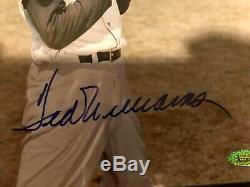 Ted Williams signed 8x10 Boston Red Sox Tristar HOF