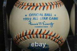 Ted Williams signed Autographed 1992 A. S. Baseball. Beautiful and Bold