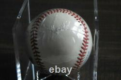 Ted Williams signed Autographed Bobby Brown Baseball. Beautiful Bold! With COA