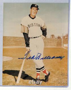 Ted Williams signed auto autograph 8x10 photo JSA COA Red Sox HOF