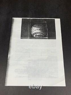 Texas Rangers 1972 Team Signed Baseball Nellie Fox, Ted Williams, 29 sigs, PSA