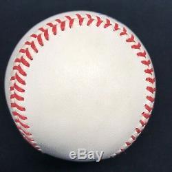 Theodore Samuel Williams Ted Full Name 406 Signed Baseball JSA LOA