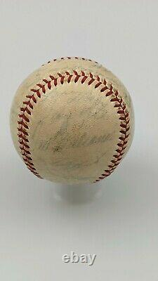 Ty Cobb Jackie Robinson Ted Williams 1951 All Star Game Signed Baseball 15 HoF