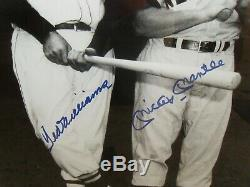UDA Mickey Mantle/Ted Williams Dual Signed Photo #82/1000-Signatures are PERFECT