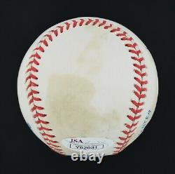UDA Ted Williams Signed Autographed OAL Baseball JSA LOA #Y62031