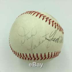 Vintage Ted Williams & Carl Yastrzemski Signed American League Baseball JSA COA